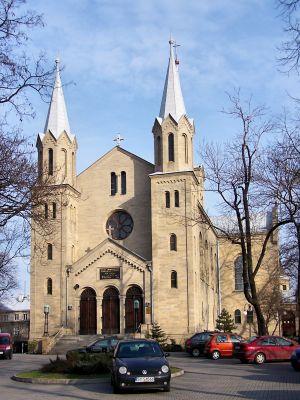 Katowice - Kościół ewangelicko-augsburski - front