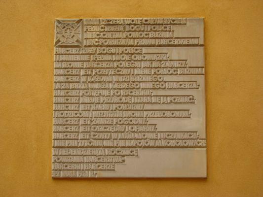 Prawo harcerskie Warszawa sw Marcin