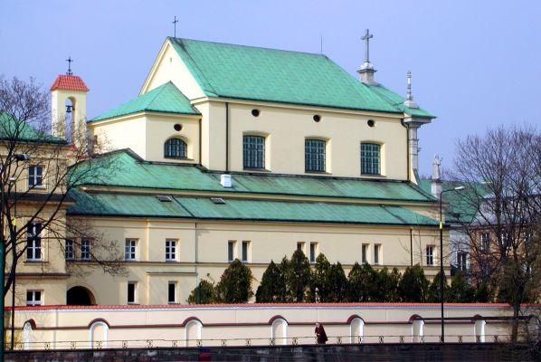 Capuchin church Miodowa St Warsaw