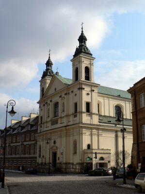 Warszawa, kosciol sw. Ducha, fasada