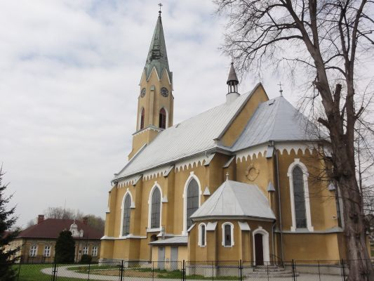 POL Mazańcowice Kościół i parafia Marii Magdaleny