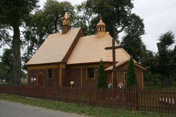 Chotum, kościół par. p.w. MB Częstochowskiej 01; Kot
