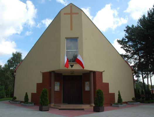 Kosciol pw Matki Bozej Fatimskiej w Legionowie