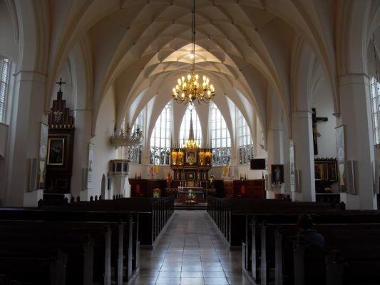 Gdańsk Kościół Matki Bożej Królowej Korony Polskiej
