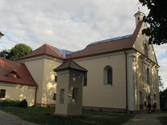 Kościół p.w. Niepokalanego Poczęcia NMP, ob. par. w zespole klasztornym franciszkanów Horyniec Zdrój