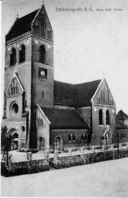 Kosciol Matki Bozej Rozancowej w Swietochlowicach-stare