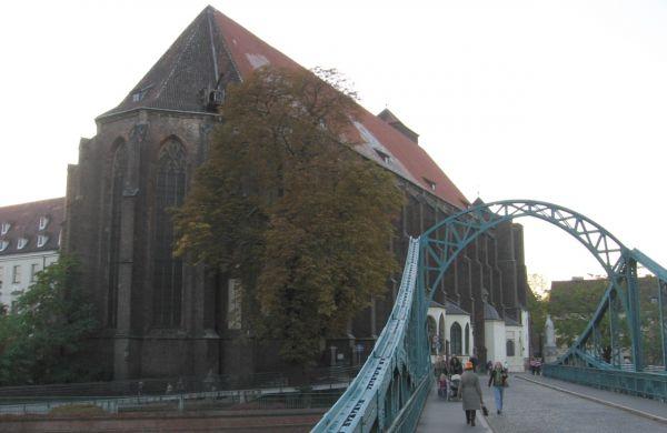 Wroclaw NMP na Piasku Most Tumski