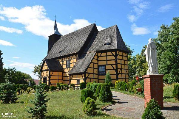 Lubin, Kościół Narodzenia NMP - fotopolska.eu (229275)