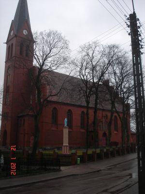 Kościół Narodzenia Najświętszej Maryi Panny w Łęgu