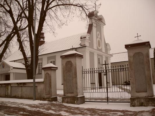 Trojanów - kościół barokowy