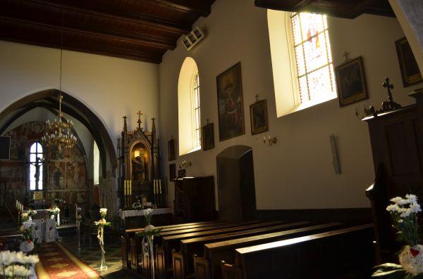 Czchów, kościół par. p.w. Narodzenia NMP, 1364, XV, XVIII 7