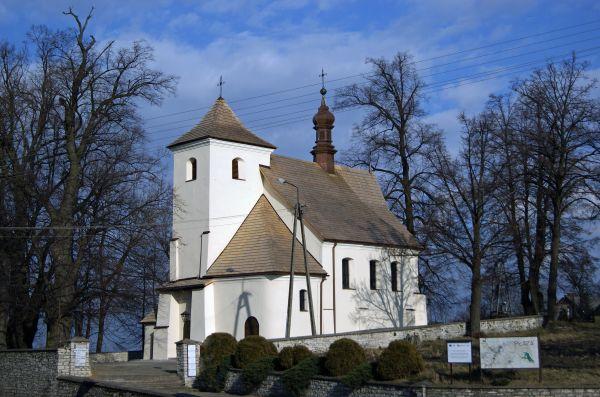 Church of the Exaltation of the Holy Cross, Płaza village, Chrzanów County,Lesser Poland Voivodeship, Poland