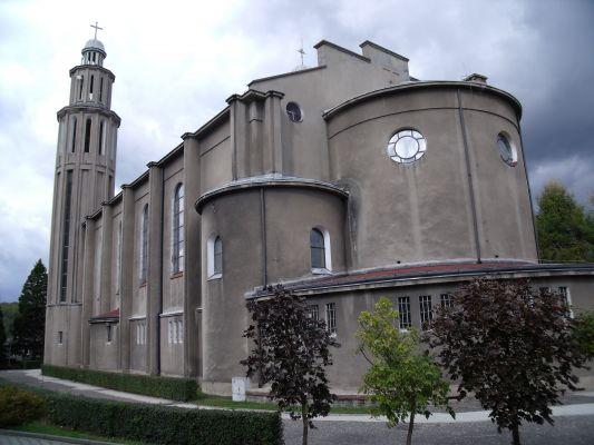 Łaziska Górne. Kościół p.w. Męczeństwa św. Jana Chrzciciela1