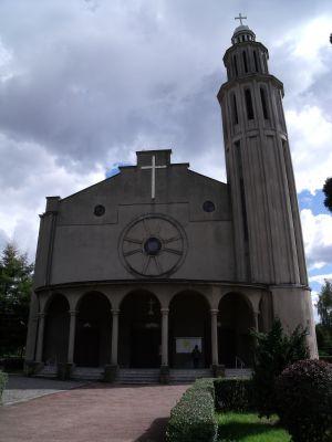 Łaziska Górne. Kościół p.w. Męczeństwa św. Jana Chrzciciela2