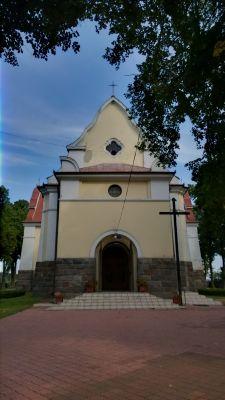 Suchowola, kościół par. p.w. Serca Jezusowego, 1920-1930