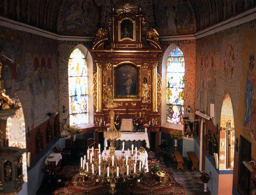 Bobin ołtarz kościoła pod wezwaniem św. Anny