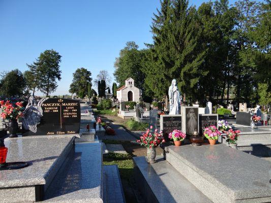 619345 małopolskie gm Proszowice Bobin cmentarz 1