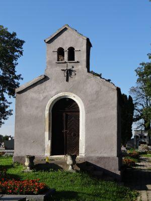 619345 małopolskie gm Proszowice Bobin cmentarz 5
