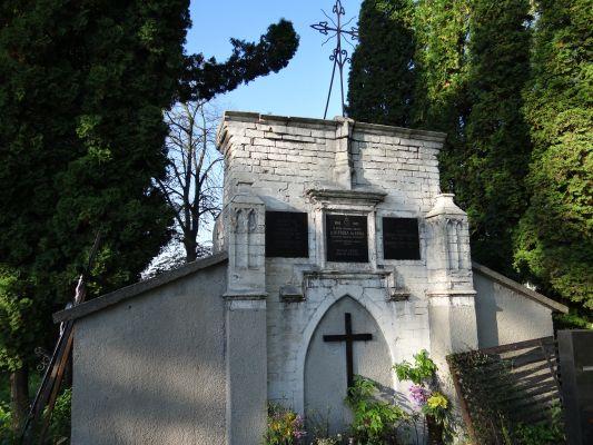 619345 małopolskie gm Proszowice Bobin cmentarz 12