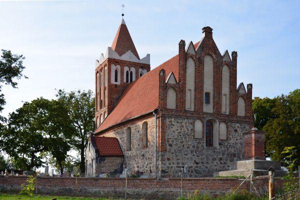 Dębowa Łąka, kościół Św. Apostołów Piotra i Pawła 1 (WLZ14)
