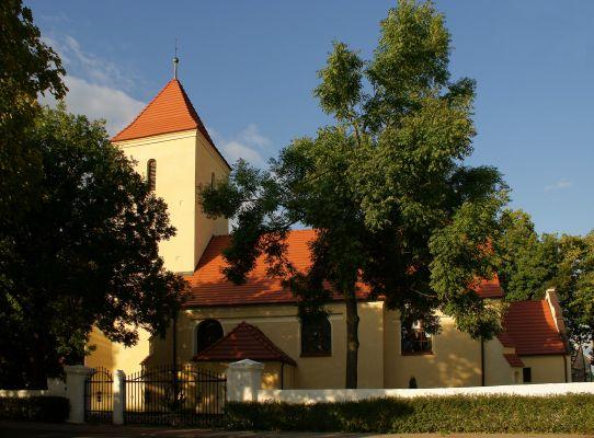 Rzeczyca( pow.Polkowice) - Kościół parafialny św. Jadwigi. 1