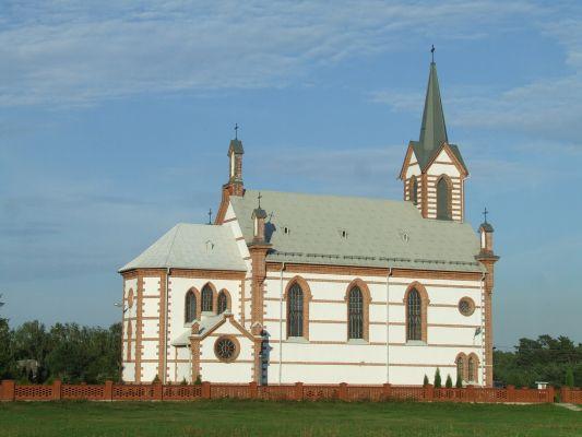 Samogoszcz - kościół parafialny pod wezwaniem św. Jadwigi Śląskiej AL03