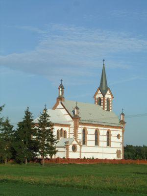 Samogoszcz - kościół parafialny pod wezwaniem św. Jadwigi Śląskiej AL04
