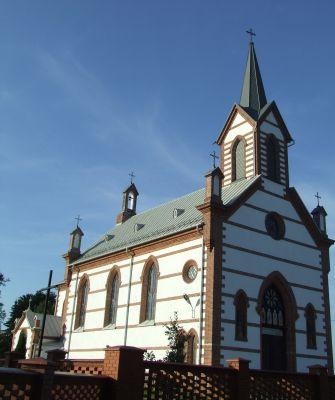 Samogoszcz - kościół parafialny pod wezwaniem św. Jadwigi Śląskiej AL01