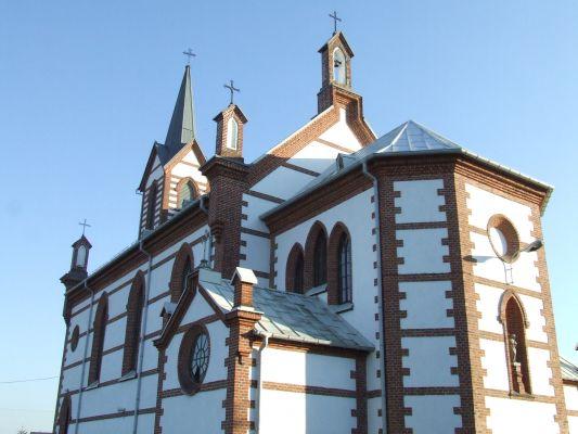 Samogoszcz - kościół parafialny pod wezwaniem św. Jadwigi Śląskiej AL02