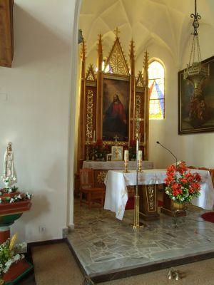 Ostaszewo, kostel, oltář