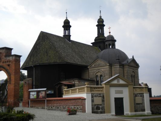 Église Potulice, Wągrowiec