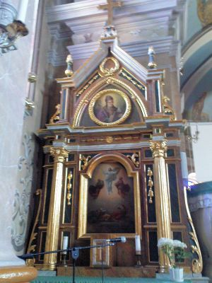 Saint Margaret of Antioch church in Góra Świętej Małgorzaty - Interior - 10