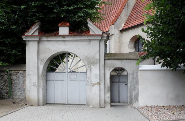 H.13.523 - Długie Stare Brama cmentarna
