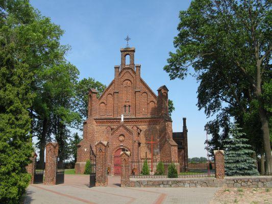 Grabkowo - kościół par. p.w. św. Marii Magdaleny, 1889 - MF-IMG 5729
