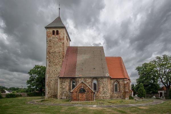 SM Łagoszów Wielki kościół św Michała Archanioła(3) ID 596813