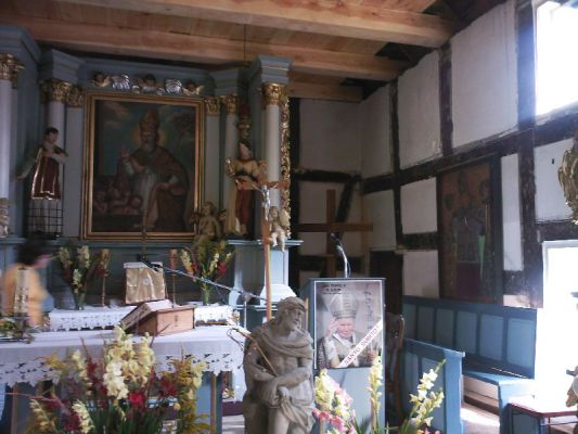 Czapielsk (Poland) - Church altar