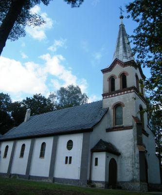 Kościół filialny pw. św. Wawrzyńca w Jastrzębiu Gmina Namysłów. bertzag (2)