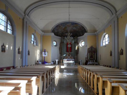 Wnętrze kościoła św. Wojciecha