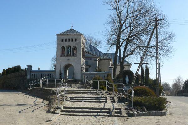 Boruszyn, church (2)
