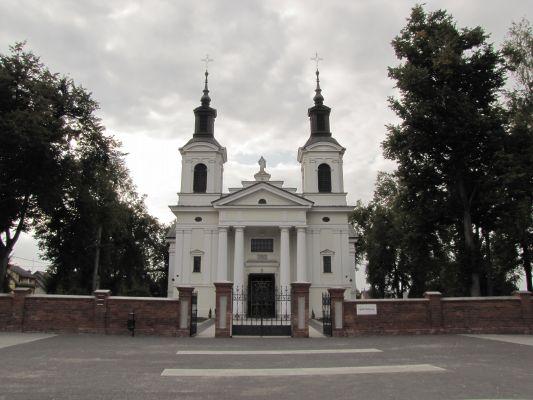 A-228 Kościół par. p.w. św. Anny Samotrzeciej, mur., 1837-1840 Wohyń