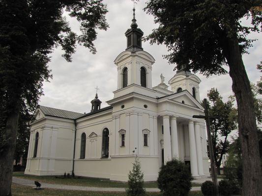 A-228 Kościół par. p.w. św. Anny Samotrzeciej, mur., 1837-1840 Wohyń 8