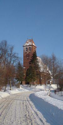 Poland Elblag-Prochnik - church