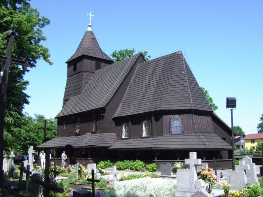 Góra. Kościół p.w. św. Barbary