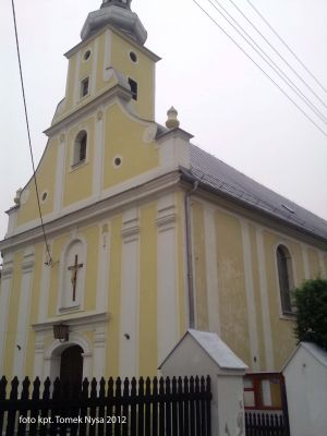 Saint Dominic church in Nysa, Poland