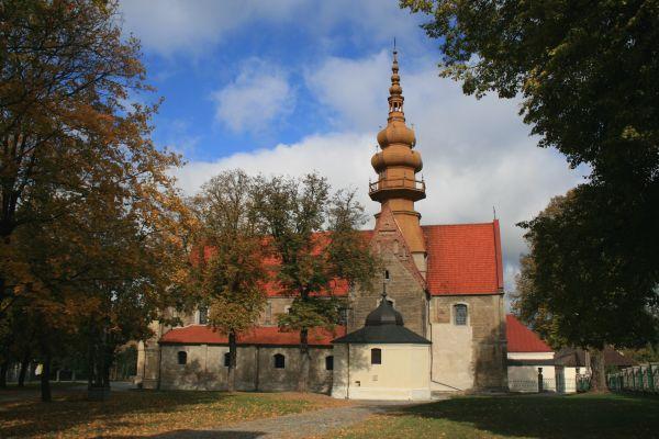 Koprzywnica - kościół Św. Floriana