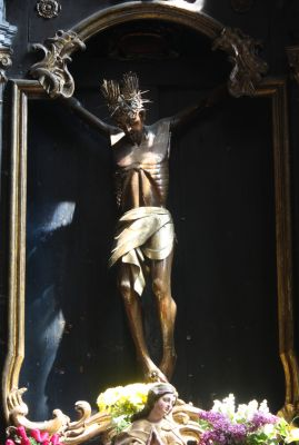 Toruń Kościół Św. Jakuba Tzw. Czarny Krucyfiks. Jakuba Czarny Krucyfiks