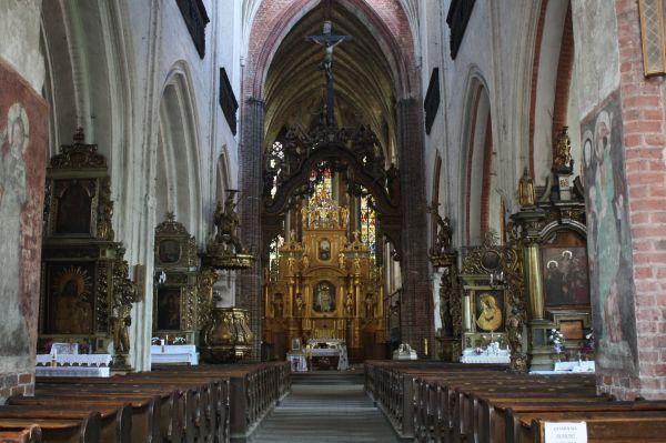 Toruń Kościół Św. Jakuba Wnętrze