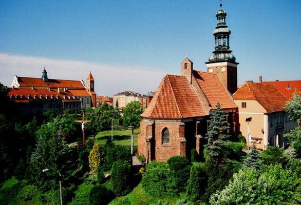 Kościół Św. Jana Chrzciciela wraz z klasztorem
