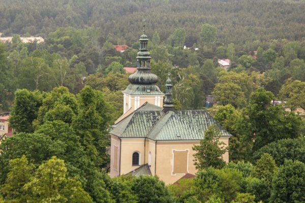 Olsztyn-Kosciol-SwJana-z-zamku