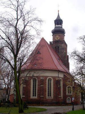 Kościół pw. św. Jana w lesznie - strona wschodnia